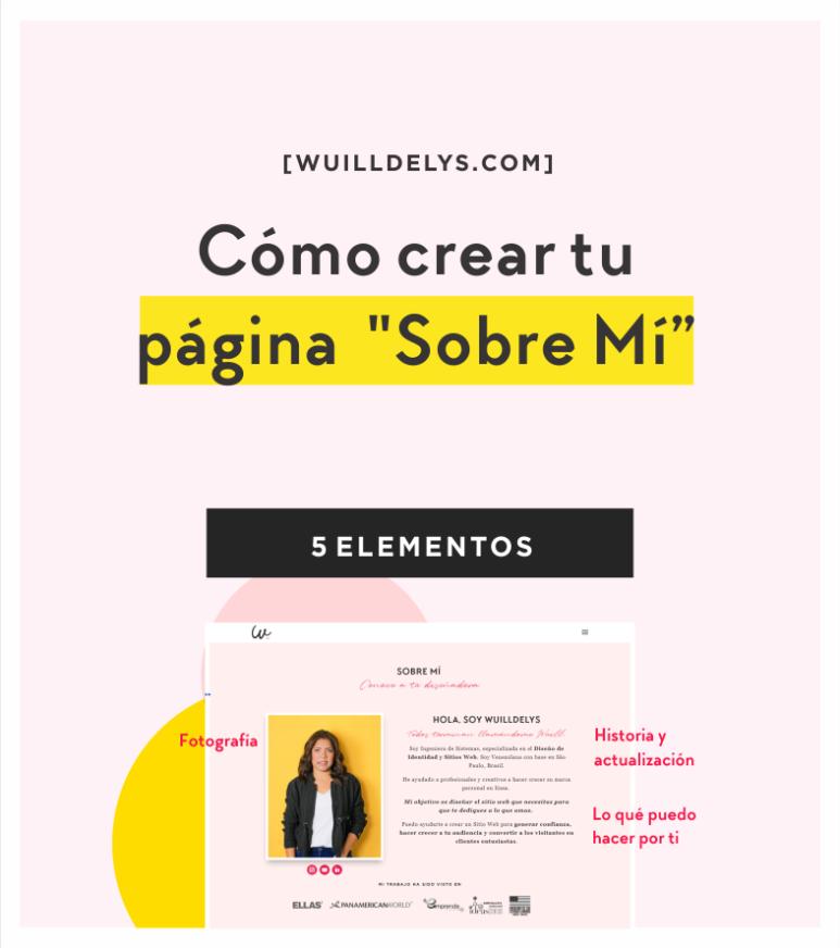 """Cómo crear tu página """"Sobre Mí"""""""