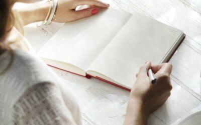 De escribir en un cuaderno a escribir en un blog